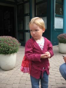 nach dem Kindergarten