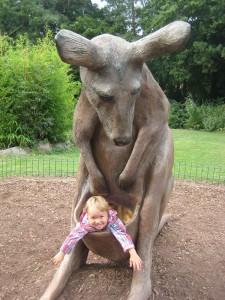 das känguru und ich im dortmunder zoo